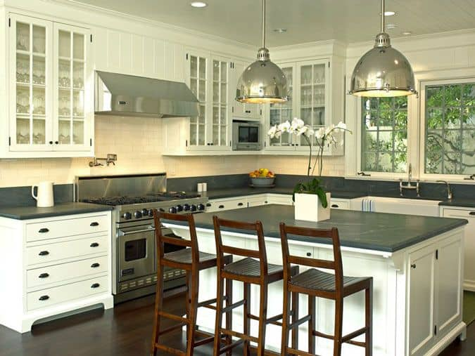 30 Gorgeous Kitchen Cabinets For An Elegant Interior Decor Part 2 Glass Cabinets (24)