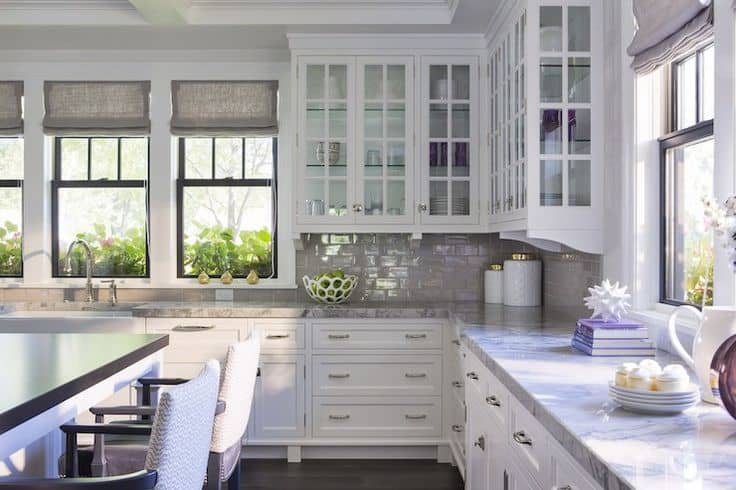 30 Gorgeous Kitchen Cabinets For An Elegant Interior Decor Part 2 Glass Cabinets (25)