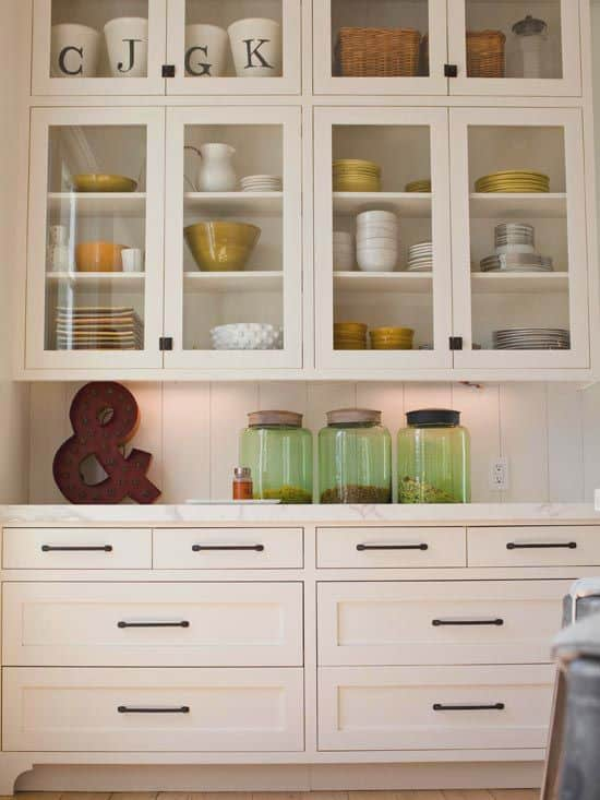 Awesome 30 Gorgeous Kitchen Cabinets For An Elegant Interior Decor Part 2 Glass  Cabinets (29)