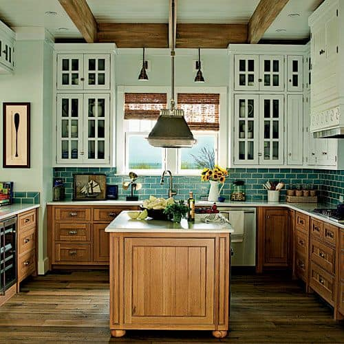 30 Gorgeous Kitchen Cabinets For An Elegant Interior Decor Part 2 Glass  Cabinets (4)
