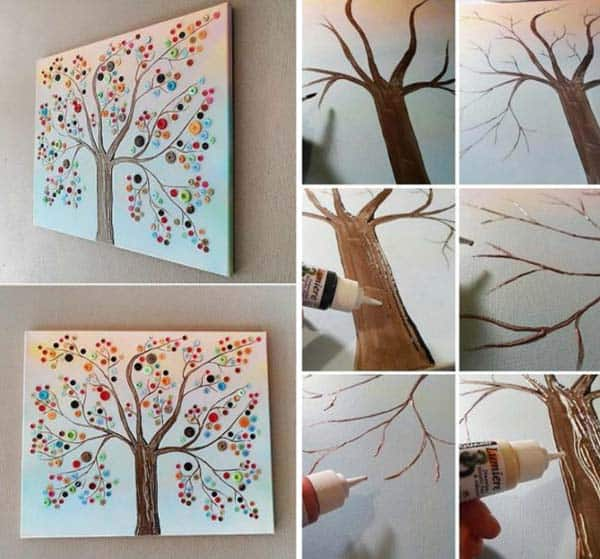 #16 USE BOTTOMS TO ADD COLOR TO A TREE
