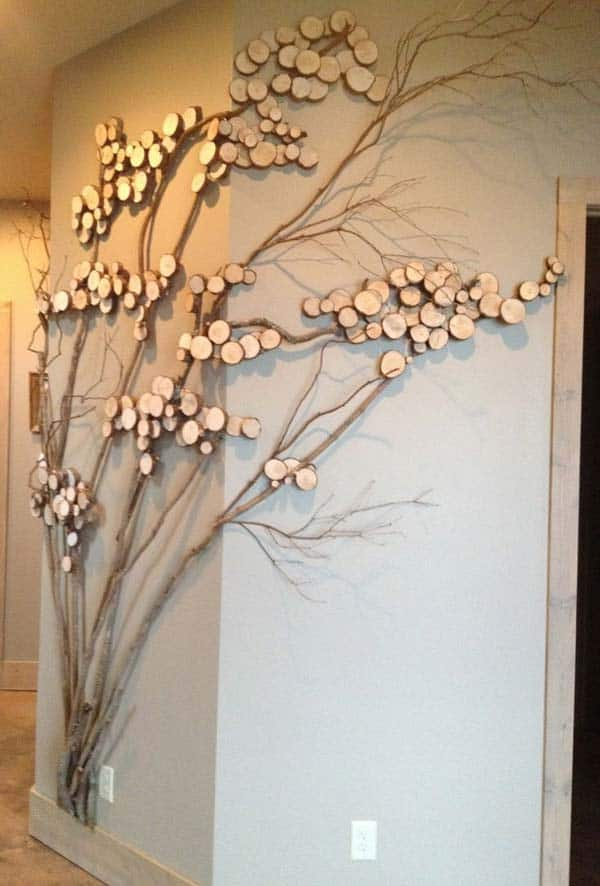 #19 BRANCHES AND TWIGS SLICED USED IN FANTASTIC TREE DECOR