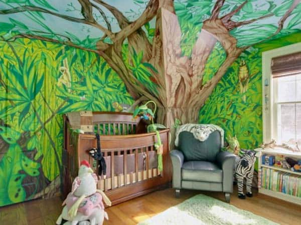 #21 JUNGLE ENCOURAGING CREATIVITY IN A PLAY ROOM