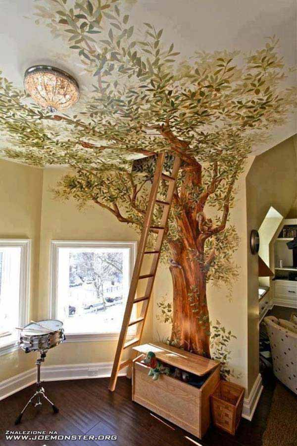 #8 GRAPHICAL MANNET TO INVITE YOUR CHILDTO CLIMB A TREE TOWARDS THE ATTIC