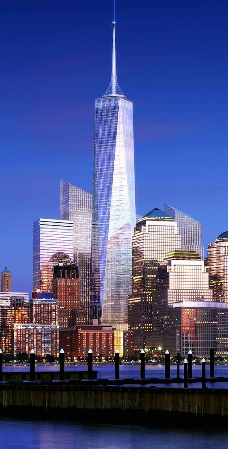 #15 The Freedom Tower or otherwise known as the One World Trade Center