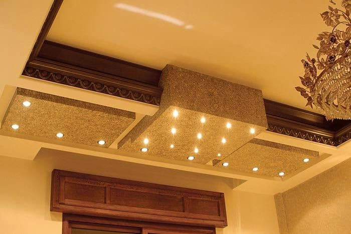 #16 MODERN CONCRETE FALSE CEILING