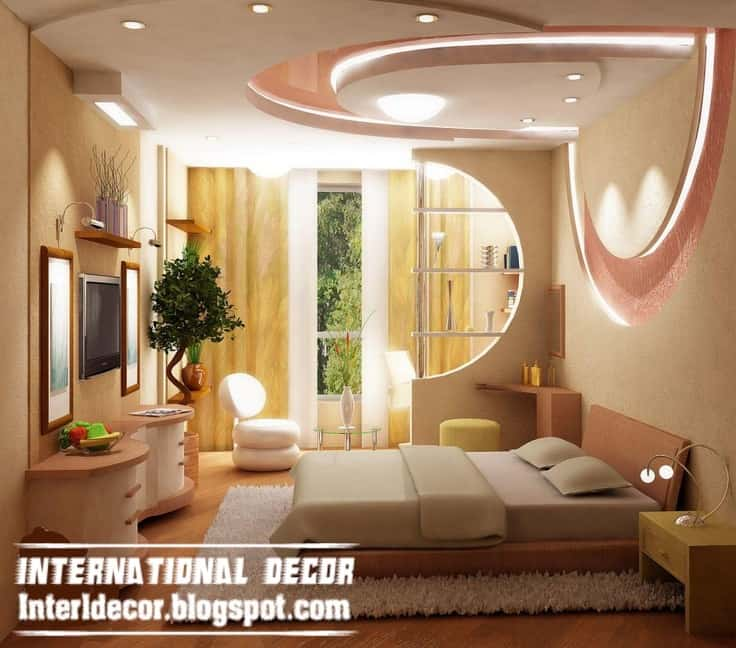 31 gorgeous gypsum false ceiling designs that you can construct into your home decor 17 - False Ceiling Design For Bedroom