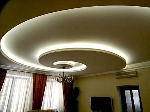 #18 FALSE CEILING WITH WHITE LIGHTING