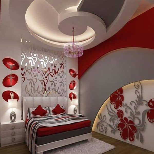 P.o.p Design Home Decoration Part - 16: 31 Gorgeous Gypsum False Ceiling Designs That You Can Construct Into Your Home  Decor (5