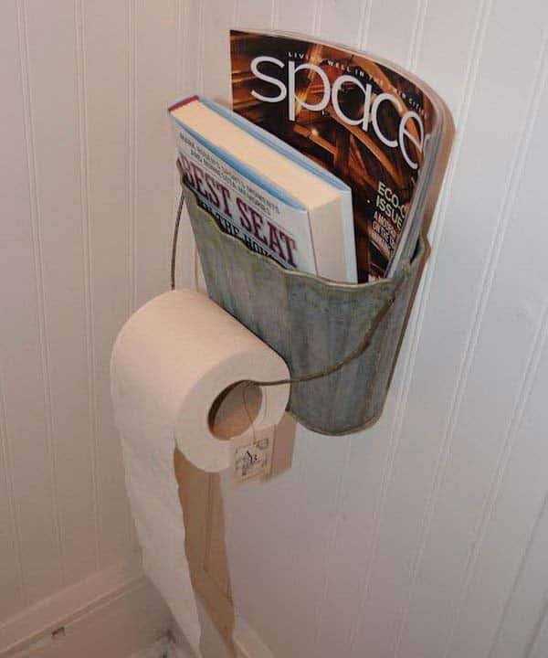 #10 STORE YOUR VALUABLE LECTURES AT GRASP IN THE BATHROOM