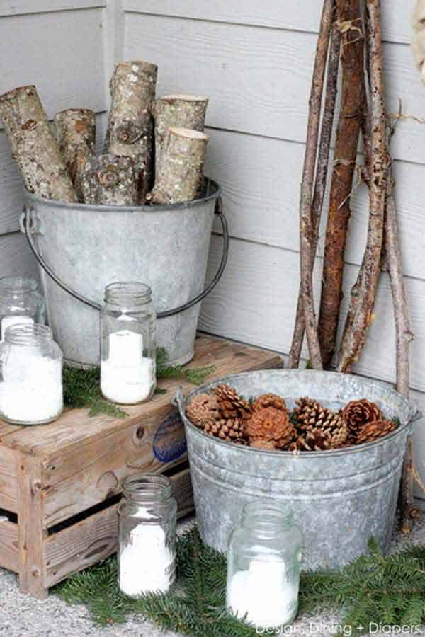 33 Insanely Smart Ways to Repurpose Galvanized Buckets and Tubs  homesthetics industrial decor (17)
