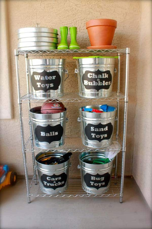 #18 ORGANIZE ITEMS WITH BUCKETS
