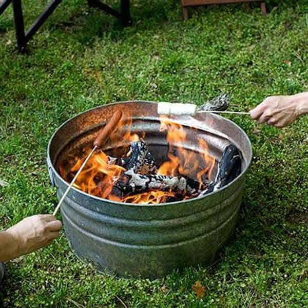 #32 CREATE A SMALL FIRE-PIT AT HOME