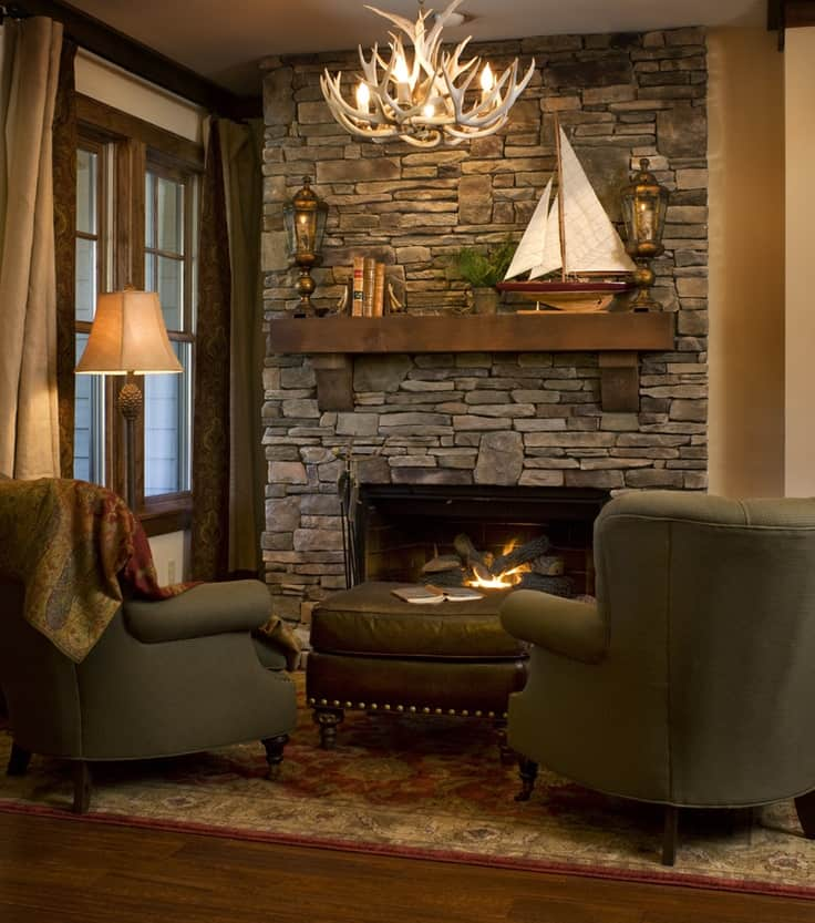 #3 RUSTIC COUNTRY CABINS  GORGEOUS STONE WALL FIREPLACE IN THIS WELL PUT  TOGETHER COUNTRY