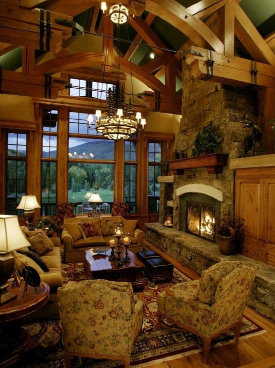 29 ANOTHER LOG CABIN IN THE MOUNTAINS