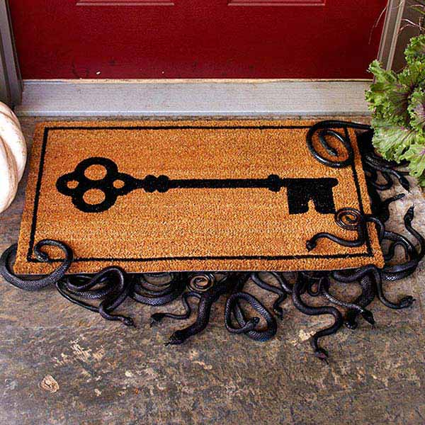 #34 YOUR WELCOME MAT CAN SEND A MESSAGE