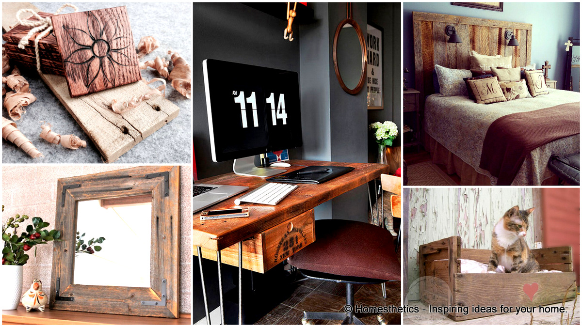 49+ Insanely Smart Reclaimed Wood Furniture And Decor Projects For A Green  Trendy Home