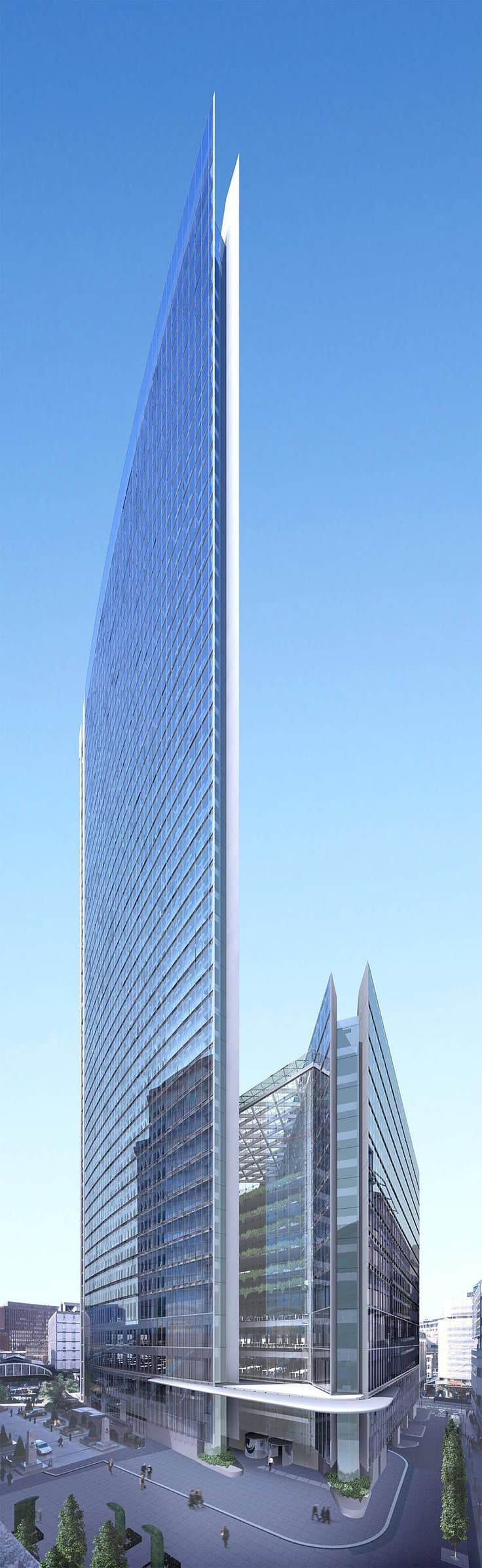 #40 THE MINERVA BUILDING IN LONDON IS AMODERN DISPLAY OFARCHITECTURAL STRUCTURE