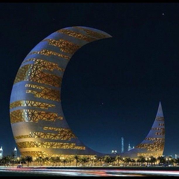 #37 THE CRESCENT MOON TOWER IN DUBAI