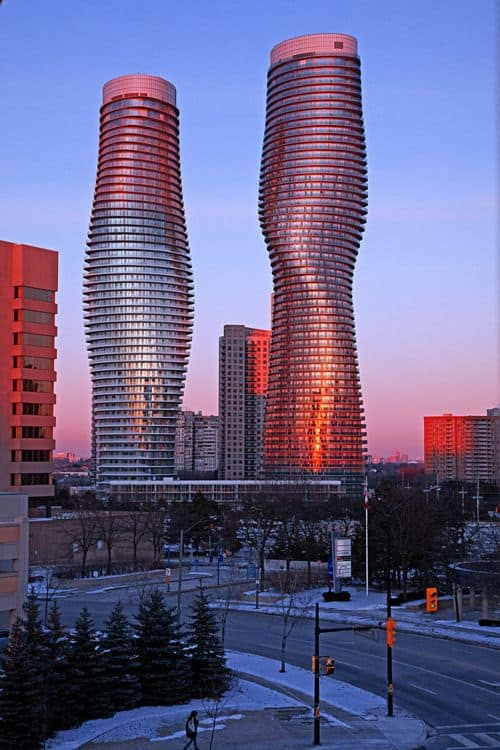 #28 THE ABSOLUTE TOWERS IN CANADA ARE FAMOUS AND UNCONVENTIONAL