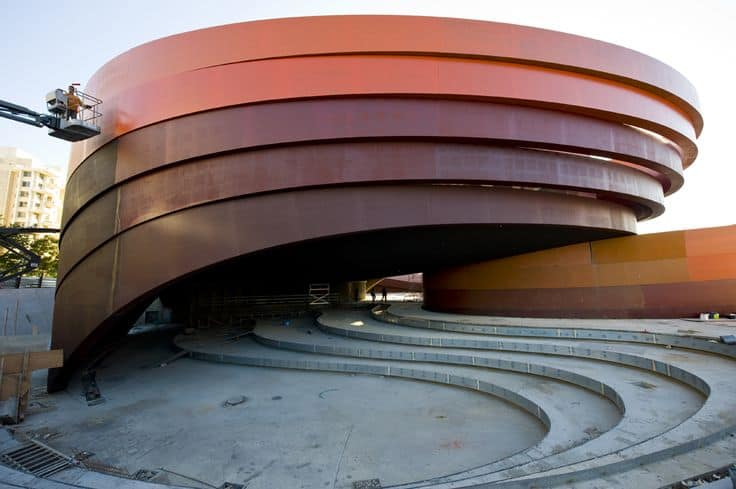 #27 DESIGN MUSEUM HOLON IN ISRAEL IS AN UNCONVENTIONAL ARCHITECTURAL STRUCTURE EXPRESSING FLUIDITY AND CONTINUITY