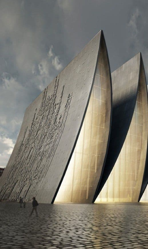 #26 STRASBOURG CATHEDRAL FOLD IN FRANCE IS ANELEGANTARCHITECTURAL STRUCTURE