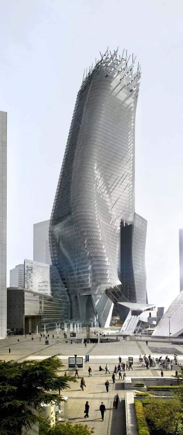 #16 THE PHARE TOWER IN PARIS - A NEW ERA'S DESIGN LINE