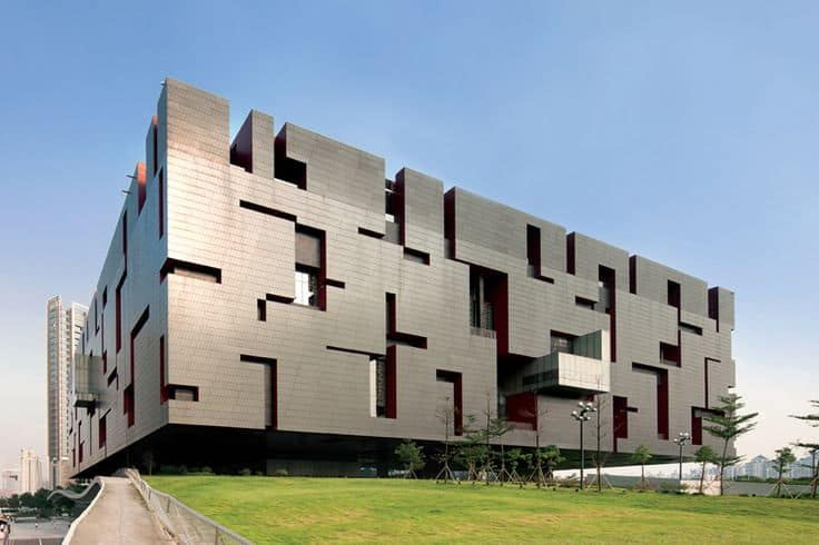 #13 THE GUANGDONG MUSEUM IN CHINA