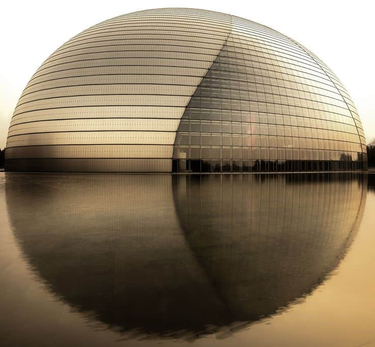 #10 THE GUANGZHOU OPERA HOUSE IN CHINA IS AN UNCONVENTIONAL ARCHITECTURAL STRUCTURE