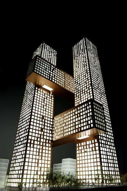 #1 THE BIG' S RESIDENTIAL TOWERS IN THE YONGSAN INTERNATIONAL BUSINESS DISTRICT IN SEOUL KOREA EXPRESSFAMOUS UNCONVENTIONAL ARCHITECTURAL STRUCTURES
