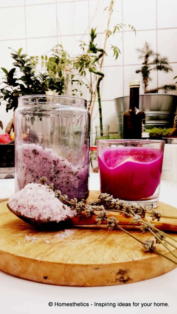 A French Aroma In Your Home- DIY Lavender Bath Salts -homesthetics (1)