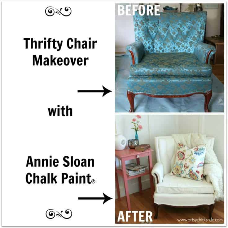 Before And After DIY Reupholstering Furniture Ideas (12)