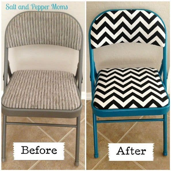 Before And After DIY Reupholstering Furniture Ideas (27)