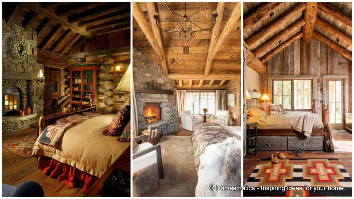 21 Extraordinary Beautiful Rustic Bedroom Interior Designs Filled ...