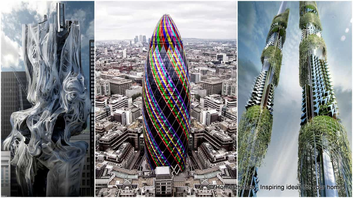 45 Famous Buildings In The World With Unconventional Architecture