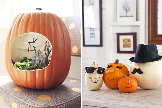 Greet Halloween With Fun Creative DIY Pumpkin Decorations1