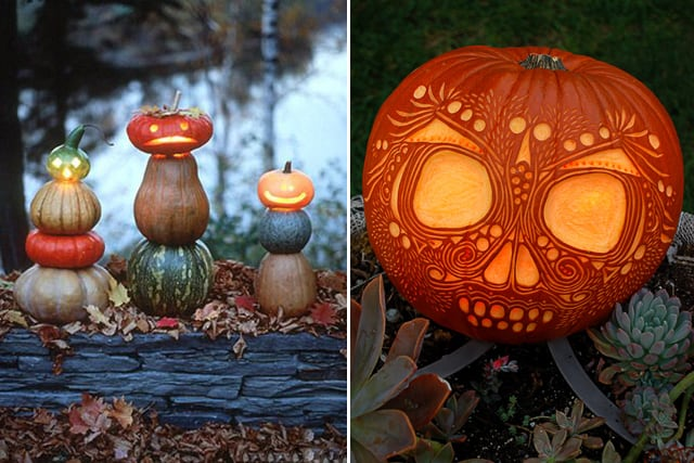 Greet Halloween With Fun Creative DIY Pumpkin Decorations13