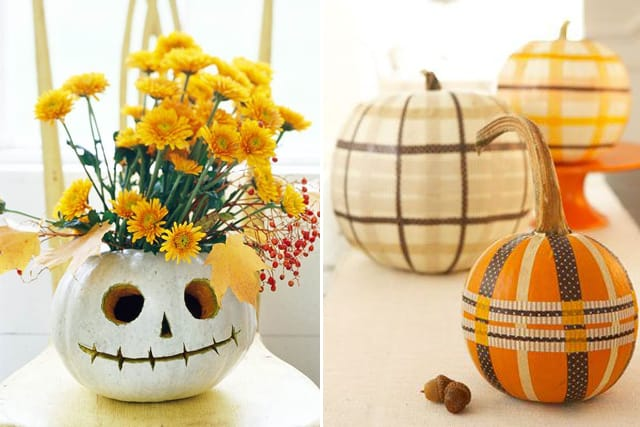 Greet Halloween With Fun Creative DIY Pumpkin Decorations15