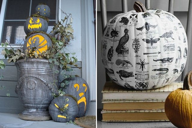 Greet Halloween With Fun Creative DIY Pumpkin Decorations2