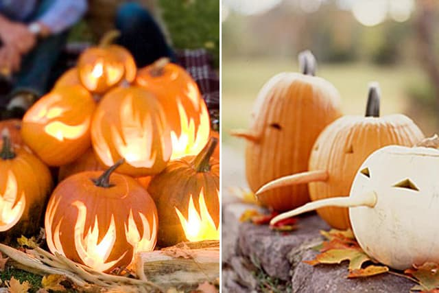 Greet Halloween With Fun Creative DIY Pumpkin Decorations4