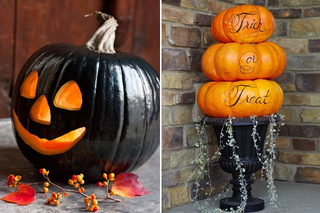Greet Halloween With Fun Creative DIY Pumpkin Decorations8