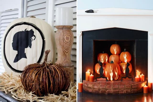 Greet Halloween With Fun Creative DIY Pumpkin Decorations9