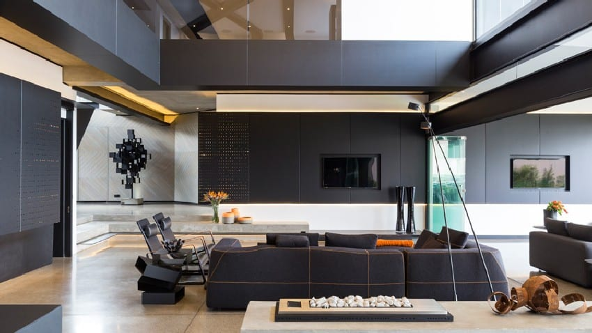 Jaw-dropping Kloof Road House Located In Johannesburg Disrupting Its Surroundings homesthetics modern mansion (10)