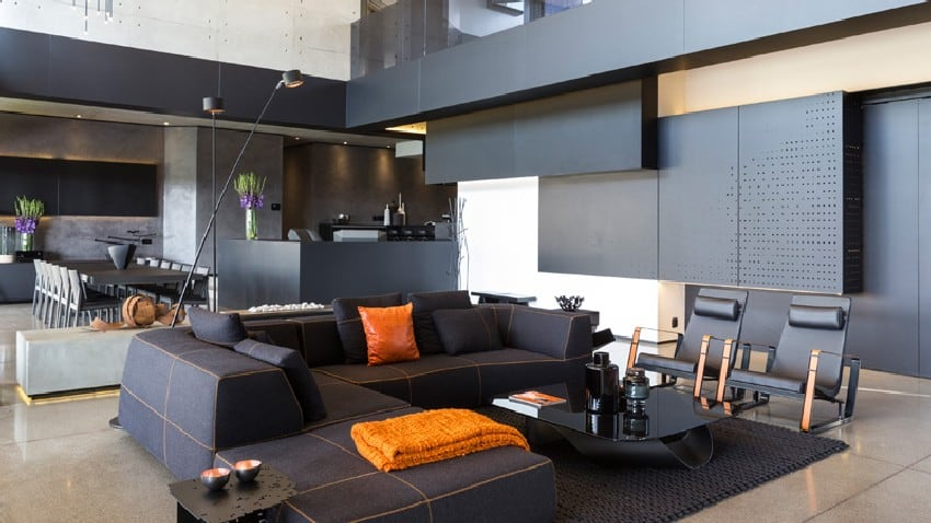 Jaw-dropping Kloof Road House Located In Johannesburg Disrupting Its Surroundings homesthetics modern mansion (11)