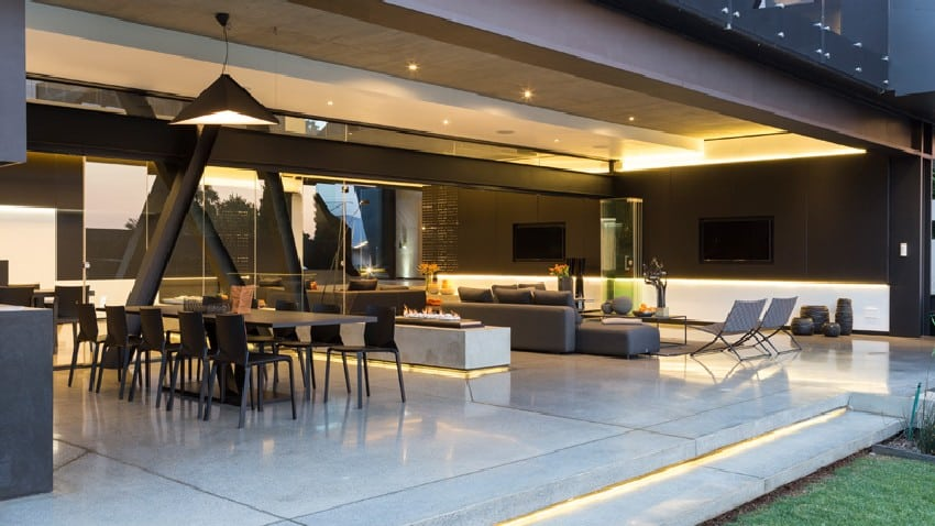 Jaw-dropping Kloof Road House Located In Johannesburg Disrupting Its Surroundings homesthetics modern mansion (13)