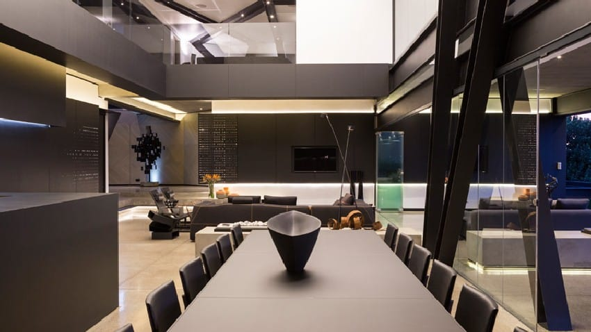 Jaw-dropping Kloof Road House Located In Johannesburg Disrupting Its Surroundings homesthetics modern mansion (14)