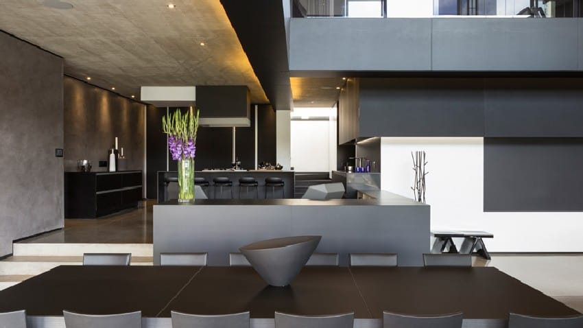 Jaw-dropping Kloof Road House Located In Johannesburg Disrupting Its Surroundings homesthetics modern mansion (15)