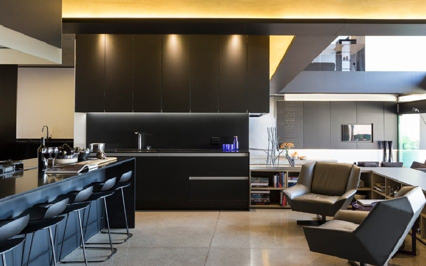 Jaw-dropping Kloof Road Residence Located In Johannesburg Disrupting Its Surroundings homesthetics modern mansion (19)