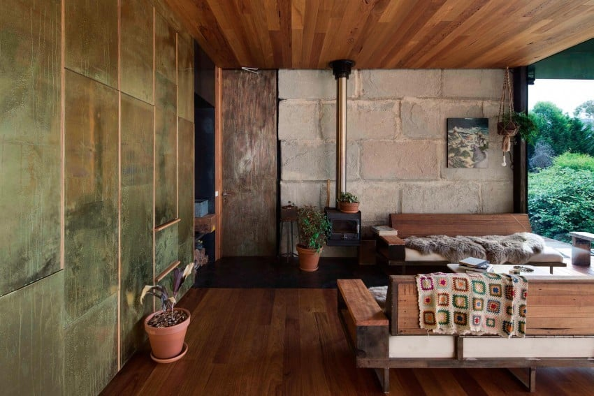 Reclaimed Concrete Blocks With Memory Defining Sawmill House in Australia modern residence on homesthetics magazine (6)