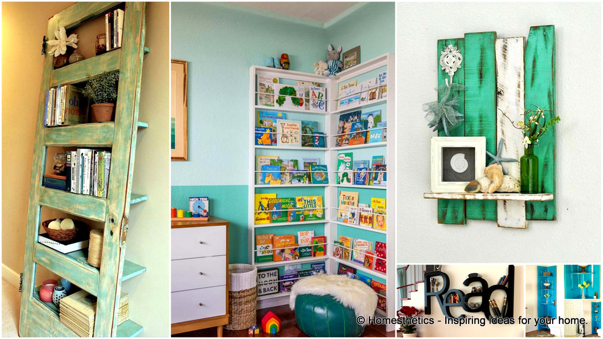 1 Cool and Ingenious Display Shelfs For a Superb Household